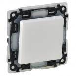 752171 - Выключатель кнопочный влагозащищенный (ip44) Legrand Valena Life (белый)