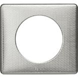068721 - Рамка однопостовая Legrand Celiane, прямоугольная, 90х82мм (сильвер пунктум)