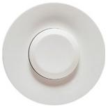 068015 - Лицевая панель для выключателя нажимного, Легранд Селян (белая)
