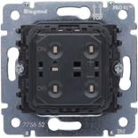 775652 - Механизм клавишного светорегулятора (диммера), 400 Вт, Legrand Galea Life