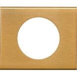 069131 - Рамка однопостовая Legrand Celiane, прямоугольная, 100х83мм, металл (золото)