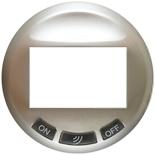 068335 - Лицевая панель для датчика движения с кнопками, Legrand Celiane (титан)
