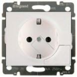 777024 - Розетка электрическая с механизмом выталкивания вилки, Legrand Galea Life, 16А (белый)