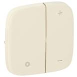 752086 - Лицевая панель для кнопочного светорегулятора Legrand Valena Allure (слоновая кость)