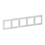 754125 - Рамка пятипостовая Legrand Valena Life (Эл Грей)