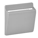 755162 - Лицевая панель для выключателя электронного с ключом-картой Legrand Valena LIFE/ALLURE (алюминий)