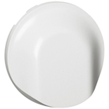068141 - Лицевая панель для вывода кабеля,  Legrand Celiane (белая)