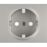 771320 - Лицевая панель для электрической розетки Legrand Galea Life с заземлением, немецкий стандарт, алюминий