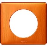 068761 - Рамка однопостовая Legrand Celiane, прямоугольная, 90х82мм (оранж пунктум)