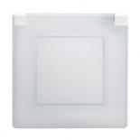 672550 - Рамка 1-постовая Legrand Etika IP44 (Белая)
