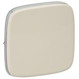 755006 - Лицевая панель для одноклавишных выключателей Legrand Valena Allure (слоновая кость)