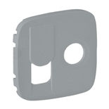 754837 - Лицевая панель для TV-RJ45 розетки Legrand Valena Allure (алюминий)