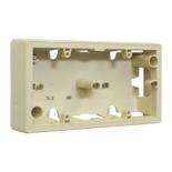 776132 - Коробка для накладного монтажа, 2 поста, Легранд Валена (слоновая кость)