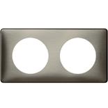 068972 - Рамка 2-постовая Legrand Celiane, прямоугольная, 161х82мм (вольфрам)