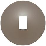 068316 - Лицевая панель для выключателя с рычажком, Legrand Celiane (титан)