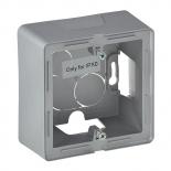 754211 - Коробка для накладного монтажа, однопостовая, Legrand Valena Life (алюминий)