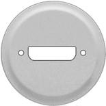 068515 - Лицевая панель для розетки аудио/видео HD15 (VGA), Легранд Селиан (титан)