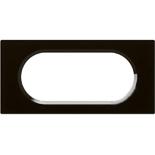 069305 - Рамка Legrand Celiane, 4/5М, 170х82мм, стекло (смальта графит)