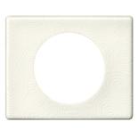 069351 - Рамка однопостовая Legrand Celiane, прямоугольная, 100х82 мм, фарфор (белая феерия)