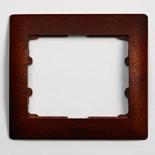 771981 - Рамка 1-постовая, Legrand Galea Life (красное дерево)