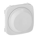 752045 - Лицевая панель для светорегулятора с поворотной ручкой Легранд Валена Аллюр (белая)