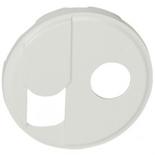 068239 - Лицевая панель для розетки RJ45 + TV (тип F), Legrand Celiane (белая)