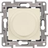 672319 - Светорегулятор (диммер) поворотный без нейтрали Legrand Etika, 300Вт (слоновая кость)