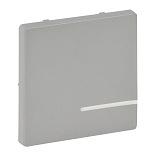 754702 - Лицевая панель для радиоприемного выключателя 1-канального с нейтралью, Legrand Valena Life (алюминий)