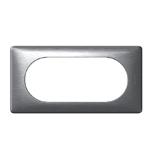 068925 - Рамка 4/5 модулей Legrand Celiane, 161×82мм (алюминий)