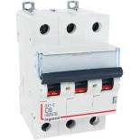 407288 - Автоматический выключатель трехполюсный Legrand DX3-E, 6A