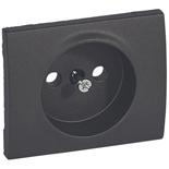 771226 - Лицевая панель для электрической розетки Legrand Galea Life без заземления, тёмная бронза