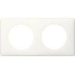 066632 - Рамка 2-постовая Legrand Celiane, прямоугольная, 161х82мм (белый глянец)