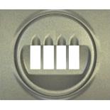 771425 - Лицевая панель для двойной акустической розетки Legrand Galea Life, титан