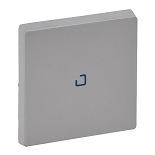 755102 - Лицевая панель для выключателя одноклавишного с подсветкой/индикацией Legrand Valena Life (алюминий)