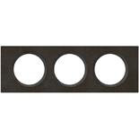 069373 - Рамка 3-постовая Legrand Celiane, прямоугольная, 242,5х82мм, камень (ардезия)