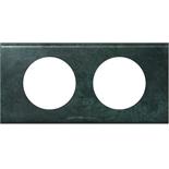 069272 - Рамка 2-постовая Legrand Celiane, 171х82мм, металл (патина медь)