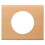 069211 - Рамка однопостовая Legrand Celiane, прямоугольная, 100х82мм, натуральное дерево (клён)