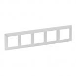 754145 - Рамка пятипостовая Legrand Valena Life (жемчуг)