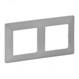 754132 - Рамка двухпостовая Legrand Valena Life (алюминий)