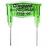 775899 - Лампа для подсветки механизмов Legrand Galea Life, 220В~, 15мA, зеленая