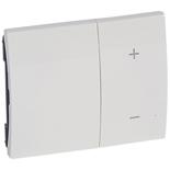 771086 - Лицевая панель для клавишных светорегуляторов (диммеров) Legrand Galea Life, белая