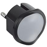 050677 - Ночник со встроенным светорегулятором, 10А, 230В, 0.06Вт, Legrand, чёрный