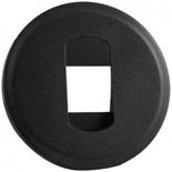 067813 - Лицевая панель для розетки акустической, Legrand Celiane (графит)