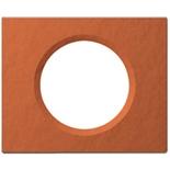 069361 - Рамка однопостовая Legrand Celiane, прямоугольная, 100х82мм, глина (терракота)