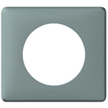 068741 - Рамка однопостовая Legrand Celiane, 90×82мм, пластик (грей)