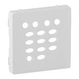 755460 - Лицевая панель для модуля расширения FM тюнера Legrand Valena Life (белая)