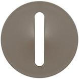 065101 - Лицевая панель для выключателя/переключателя с тонкой клавишей, Legrand Celiane (титан)