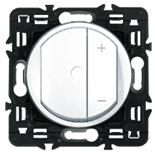 067085 + 080251 + 068075 - Светорегулятор (диммер) с подсветкой, Legrand Celiane, 300Вт (белый)