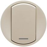 066215 - Лицевые панели для выключателя, Легранд Селиан (слоновая кость)