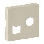 754831 - Лицевая панель для розетки TV-RJ45 Legrand Valena Life (слоновая кость)
